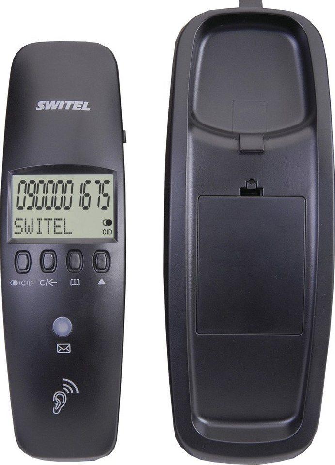 Switel Schnurgebundenes Telefon »TF510« in schwarz
