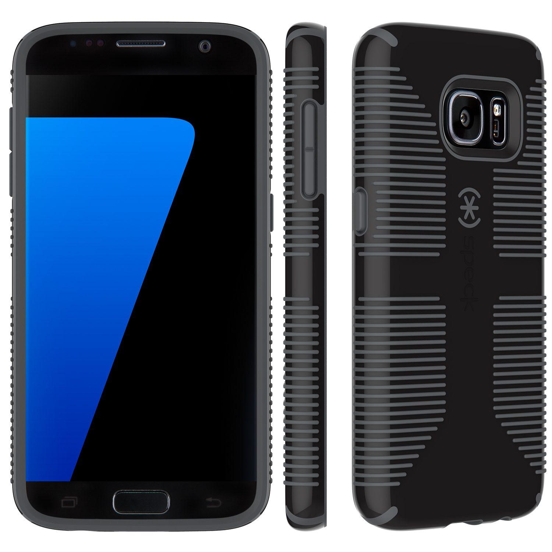 Speck HardCase »CandyShell Grip Samsung Galaxy S7 Black/Slate Grey«