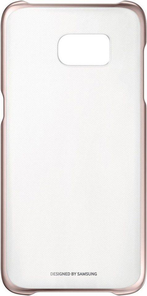 Samsung Handytasche »Clear Cover EF-QG935 für Galaxy S7 Edge« in Pink-Gold