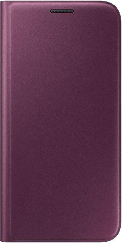 Samsung Handytasche »Flip Wallet EF-WG935 für Galaxy S7 Edge« in Violett