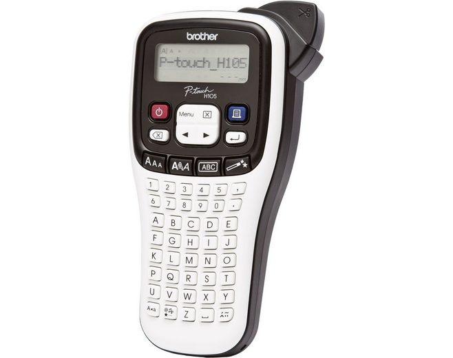 Brother Beschriftungsgerät »P-touch PT-H105WB Mobiles Beschriftungsgerät«