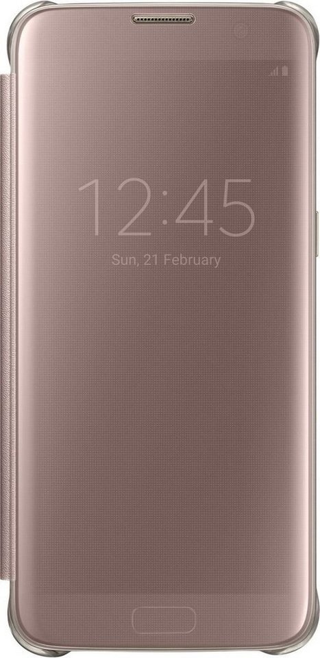 Samsung Handytasche »Clear View Cover EF-ZG935 für S7 Edge« in Pink-Transparent