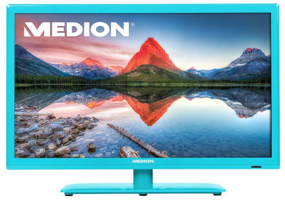 "MEDION® 54,6 cm (21,5"") LED-Backlight TV LIFE® P13172 »Full HD, Triple Tuner, CI+« in türkis"