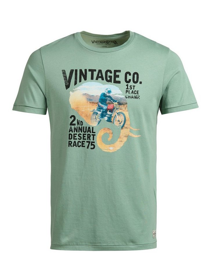 Jack & Jones Bedrucktes T-Shirt in Green Bay
