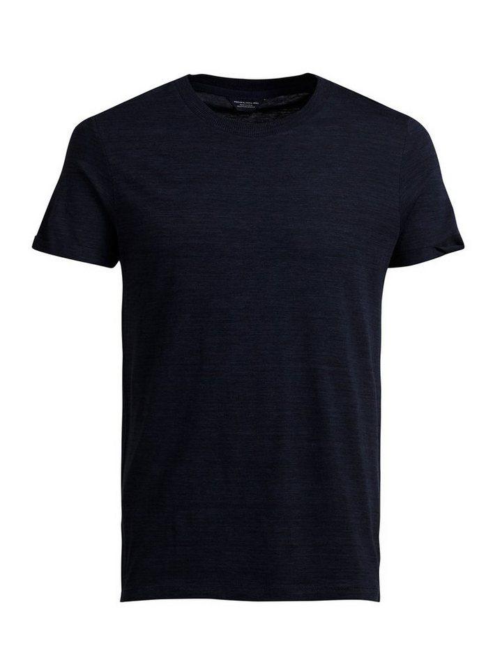 Jack & Jones Neuartiges Melange T-Shirt in Navy Blazer