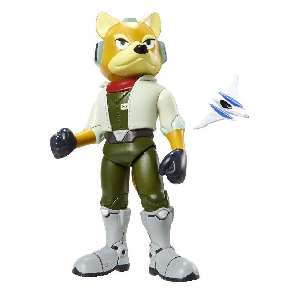 Jakks Pacific Spielwaren »Nintendo Figur (10cm) W3 - Starfox mit Arwing«