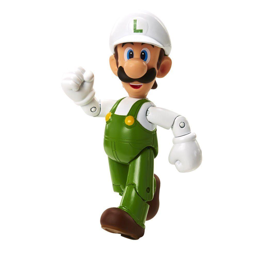 Jakks Pacific Spielwaren »Nintendo Figur (10cm) W4 - Fire Luigi mit Flower«