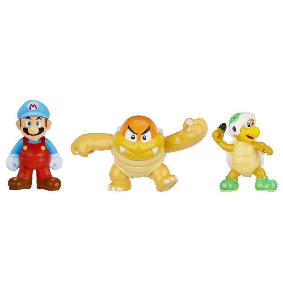 Jakks Pacific Spielwaren »Nintendo Figur Micro 3er Pack W2-Ice Mario,Boom Bo«