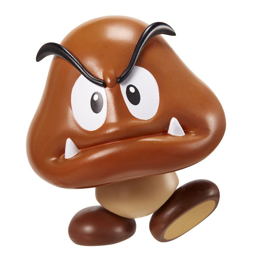 Jakks Pacific Spielwaren »Nintendo Figur (10cm) W3 - Goomba mit Coin«