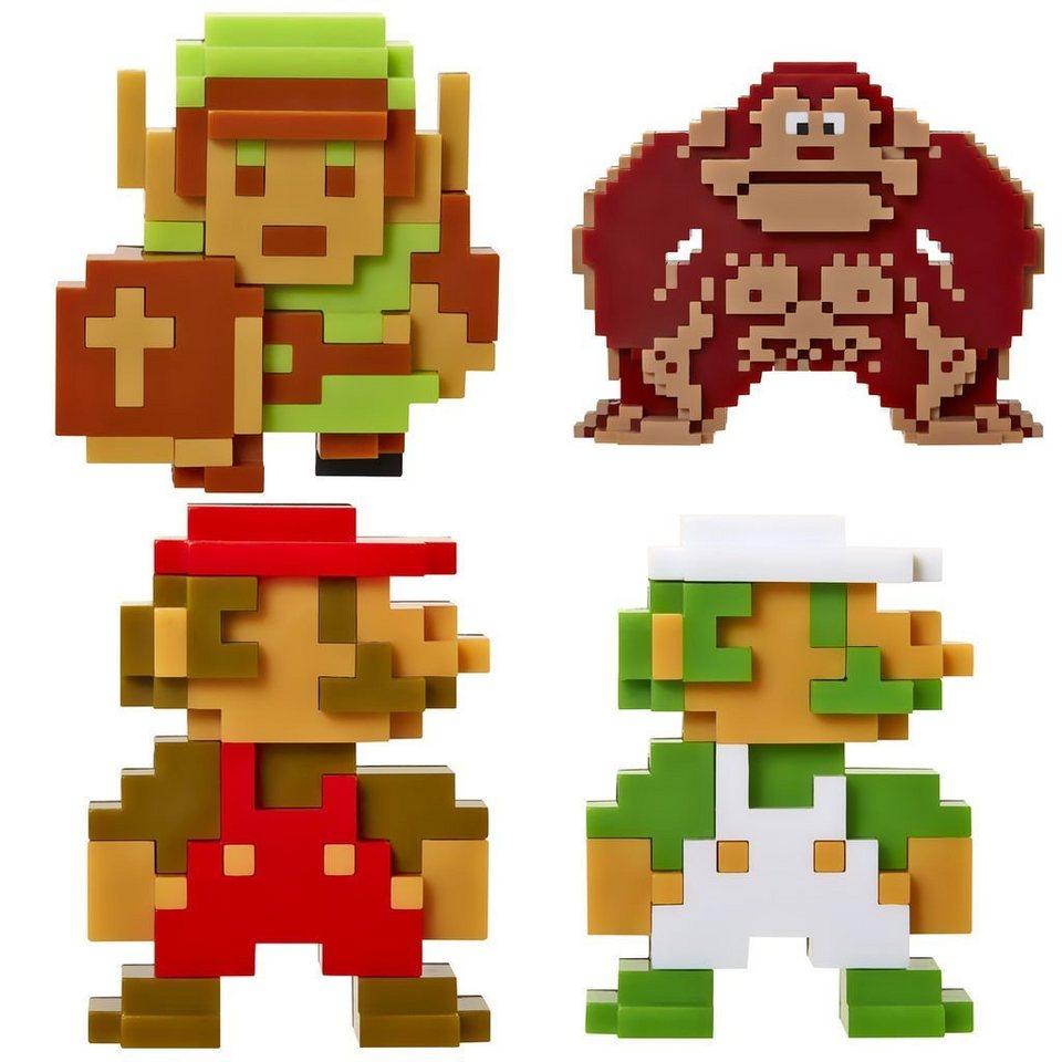 Jakks Pacific Spielwaren »Nintendo Mini Figur (6cm) 5er Retro 8-Bit Pack W2«