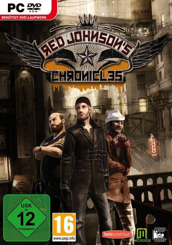 Morphicon PC - Spiel »Red Johnson's Chronicles«