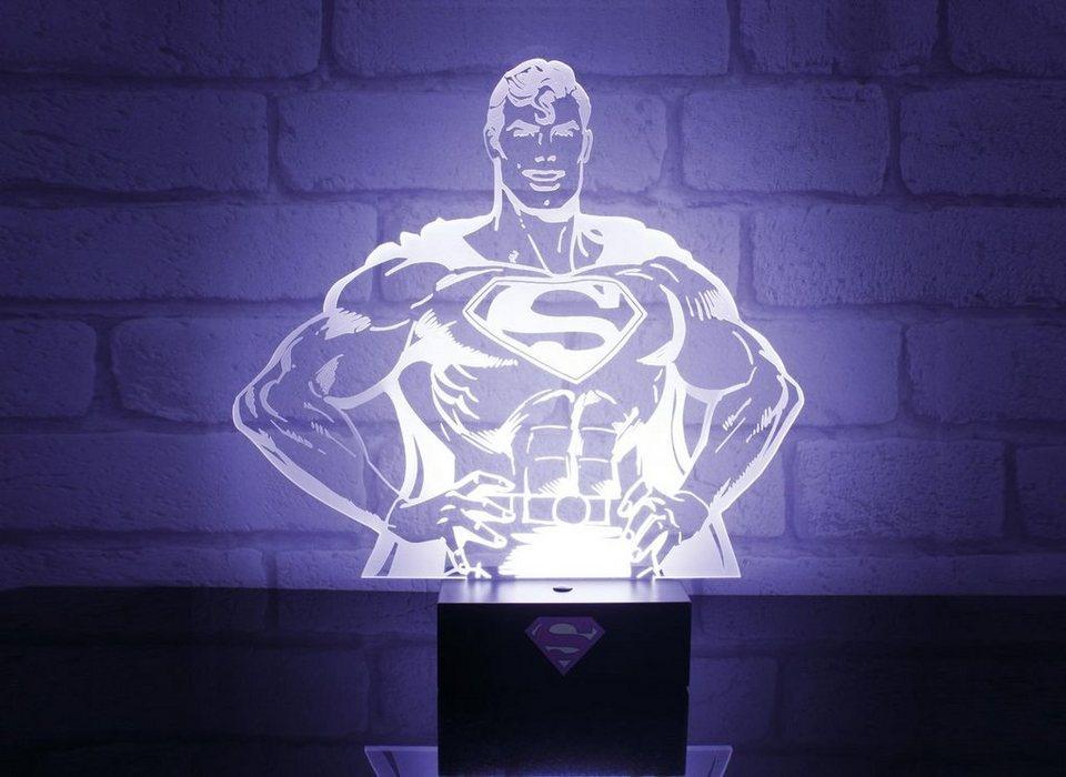 paladone fanartikel superman holografisches 3d licht ca. Black Bedroom Furniture Sets. Home Design Ideas