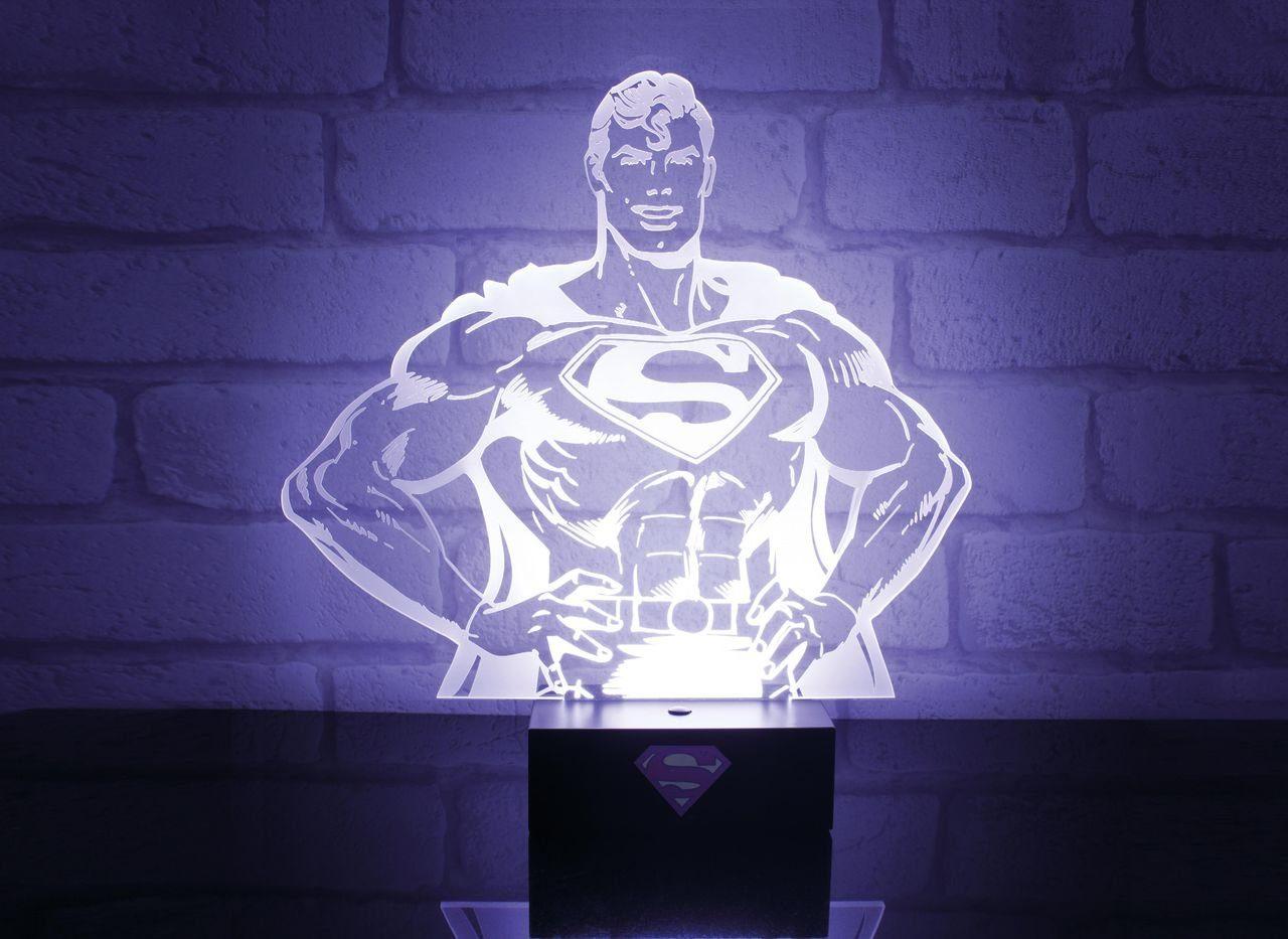 Paladone Fanartikel »Superman holografisches 3D Licht ca.26cm«