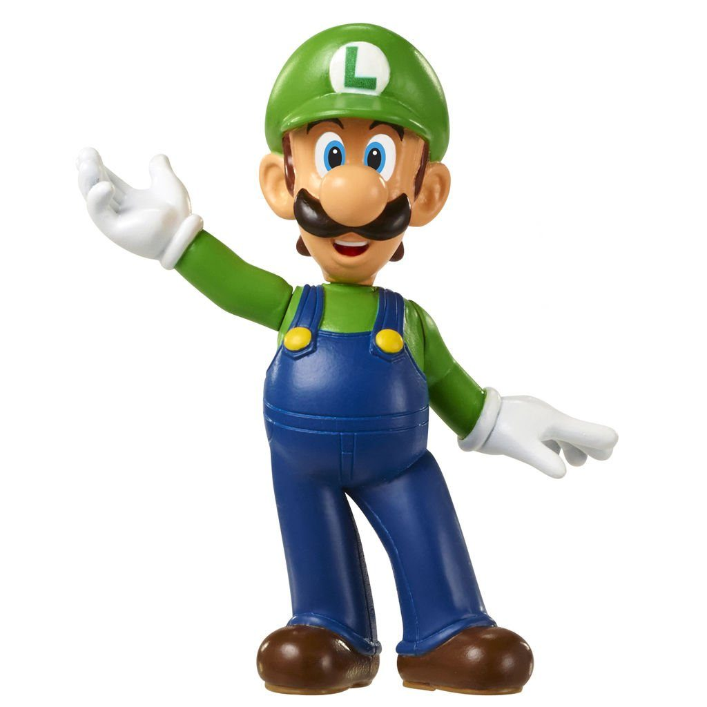 Jakks Pacific Spielwaren »Nintendo Mini Figur (6cm) W3 - Luigi«