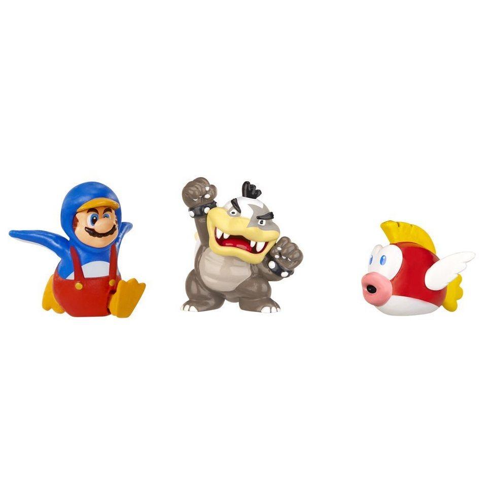 Jakks Pacific Spielwaren »Nintendo Figur Micro 3er Pack W2-Morton Koopa,Ping«