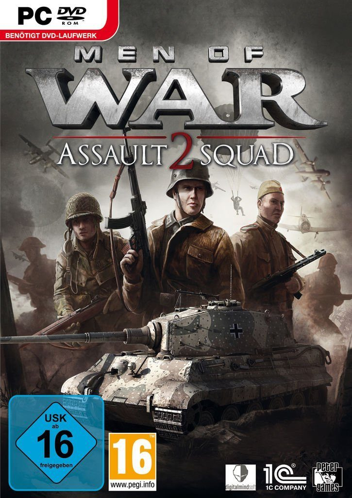 Morphicon PC - Spiel »Men of War Assault Squad 2«