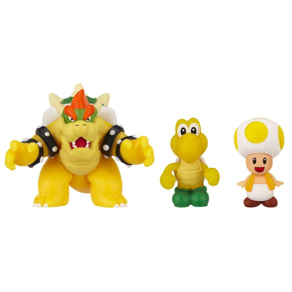 Jakks Pacific Spielwaren »Nintendo Micro Figur 3er Pack-Bowser,Koopa,Toad«