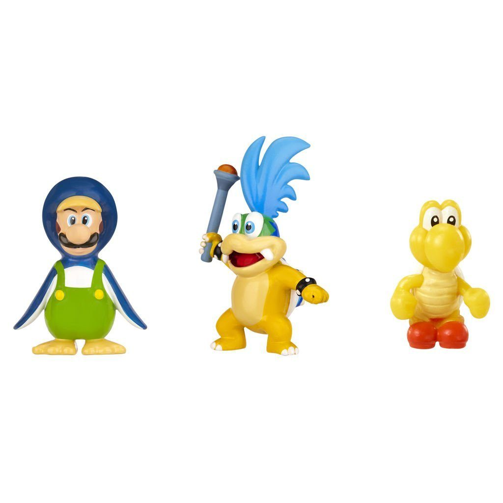 Jakks Pacific Spielwaren »Nintendo Figur Micro 3er Pack W2-Larry Koopa,Pingu«