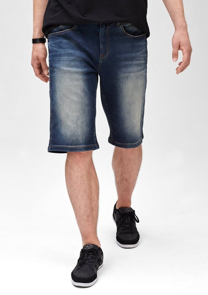 s.Oliver Scube Relaxed: Denim Joggers in blue denim stretch