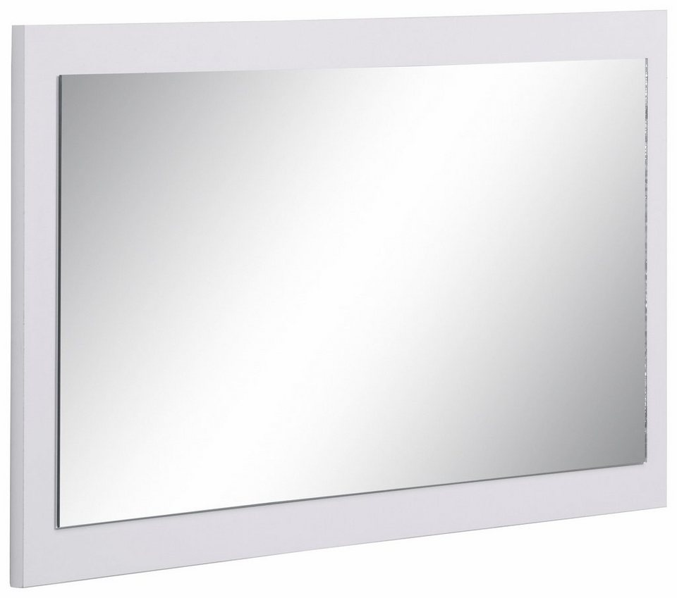Spiegel »Cube« in weiß