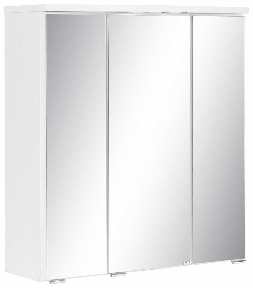 Held Möbel Spiegelschrank »Venedig« in weiß