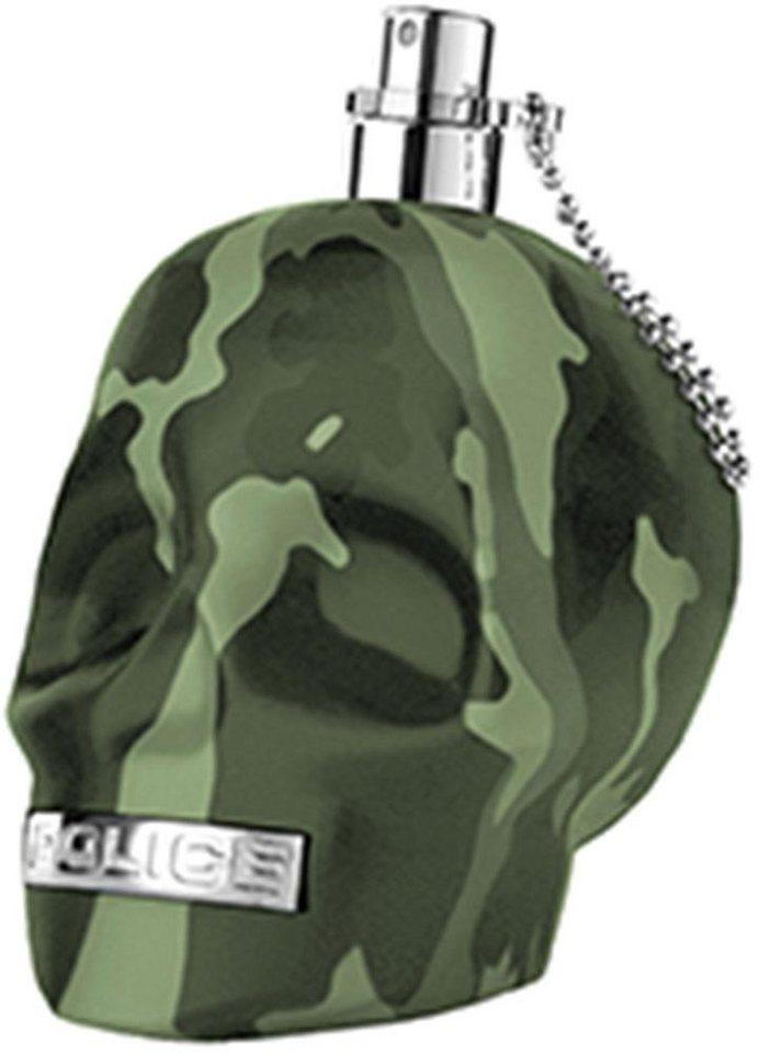Police, »To Be Camouflage«, Eau de Toilette