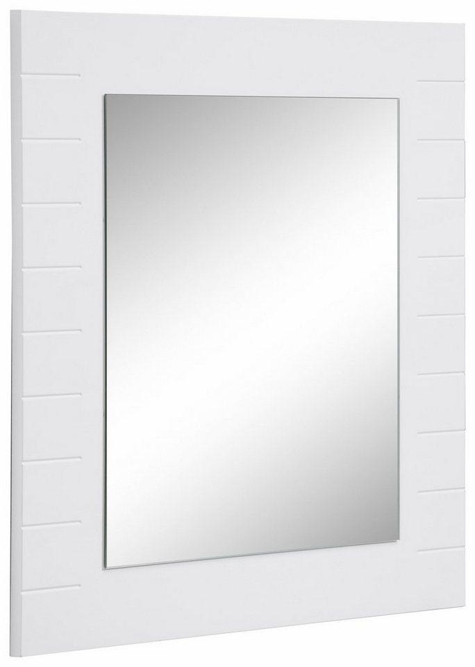 Welltime Spiegel »Columbia« in weiß glanz