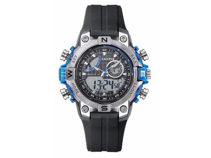 CALYPSO WATCHES Chronograph »K5586/2« 3 Zeiger davon 2 Leuchtzeiger