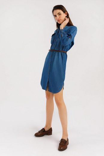 Finn Flare Jeanskleid aus Denim-Stoff
