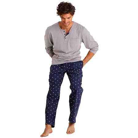Nachtwäsche: Pyjamas lang