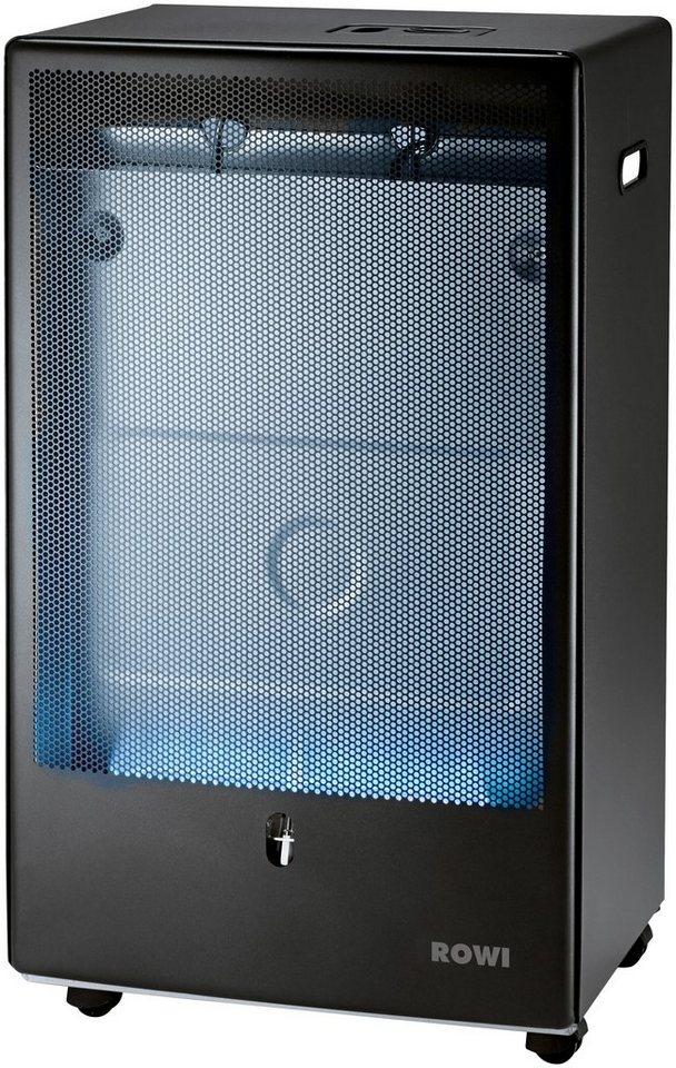 Gas-Heizgerät »Blue Flame«, anthrazit, 4200 Watt, Thermostat, Pro in grau