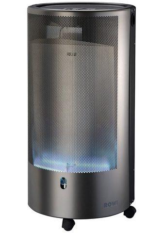 ROWI Dujinis šildytuvas »Blue Flame« sidabr...