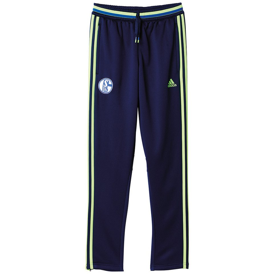 adidas Performance FC Schalke 04 »Trainings Hose« in blau