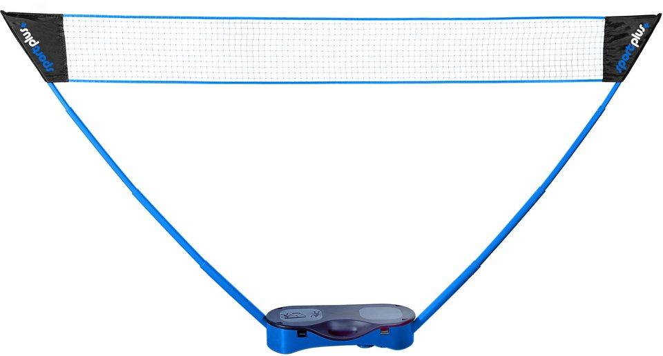 Sportplus Badminton Netz, inkl. 2 Schlägern und 2 Federbällen, »SP-NET-011« in blau