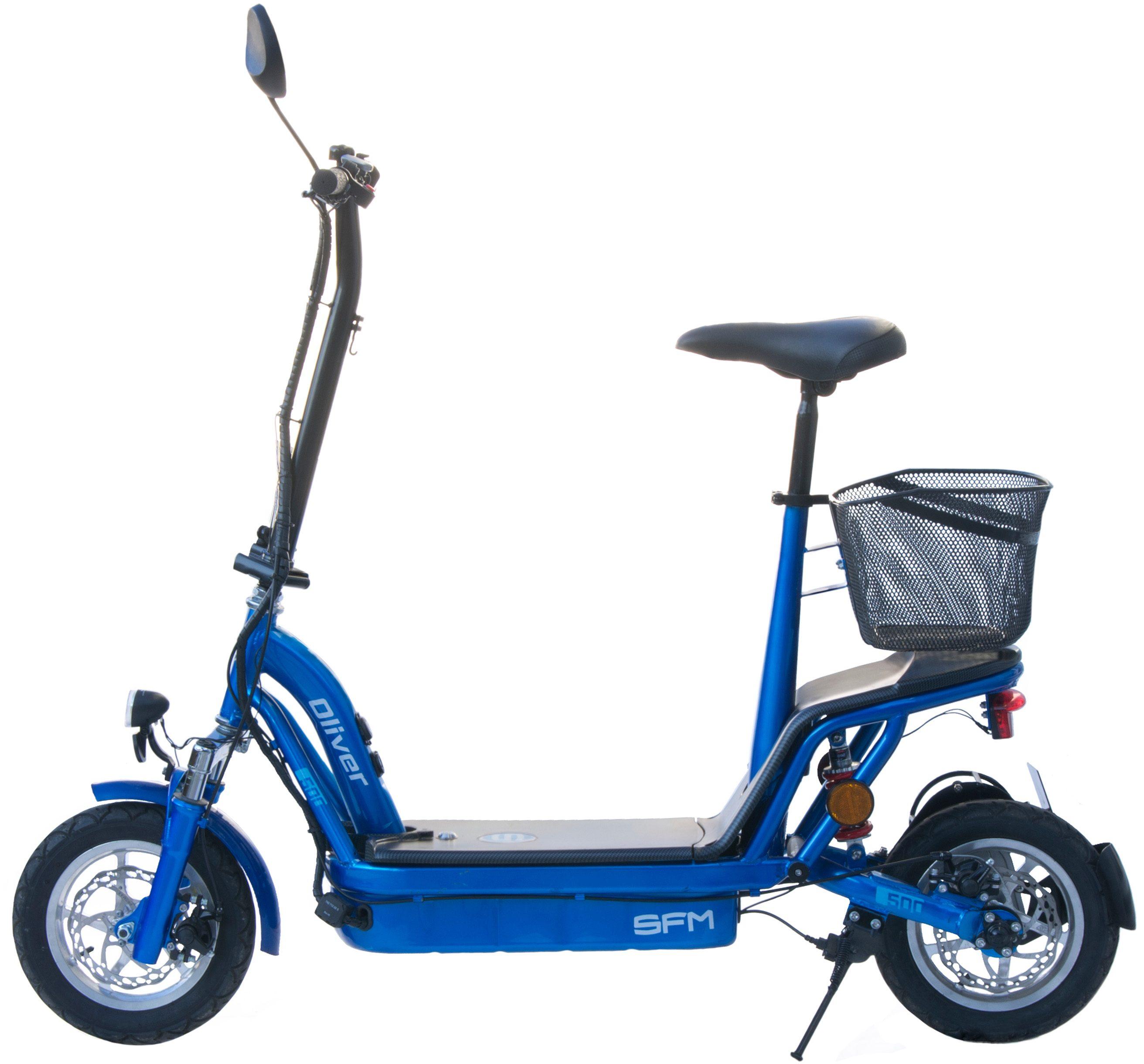 SFM Elektro-Roller, 20 km/h, 36V 12AH Blei-Gel-Akku, 500 W Elektromotor , »Oliver 500«