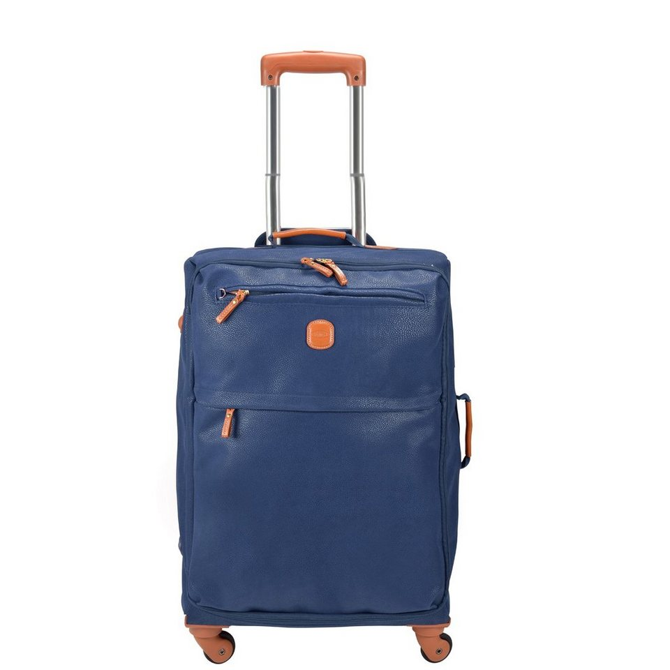 Bric's Life Promo Kabinentrolley 4-Rollen 55 cm in blue