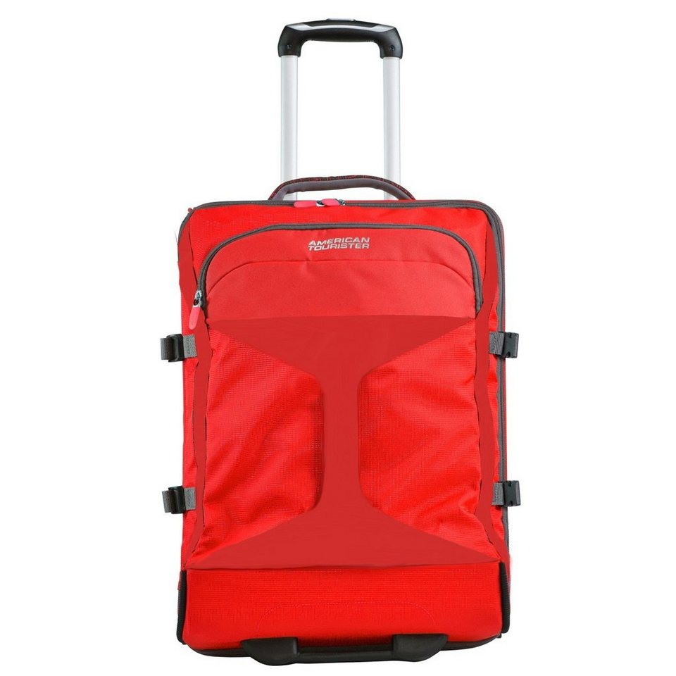American Tourister Road Quest 2-Rollen-Reisetasche Duffle 55 cm in solid red
