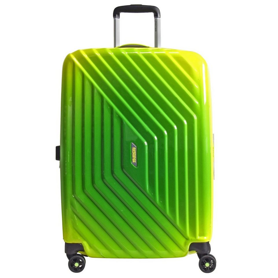 American Tourister Air Force 1 Gradient Spinner 4-Rollen Trolley 76 cm in gradient yellow