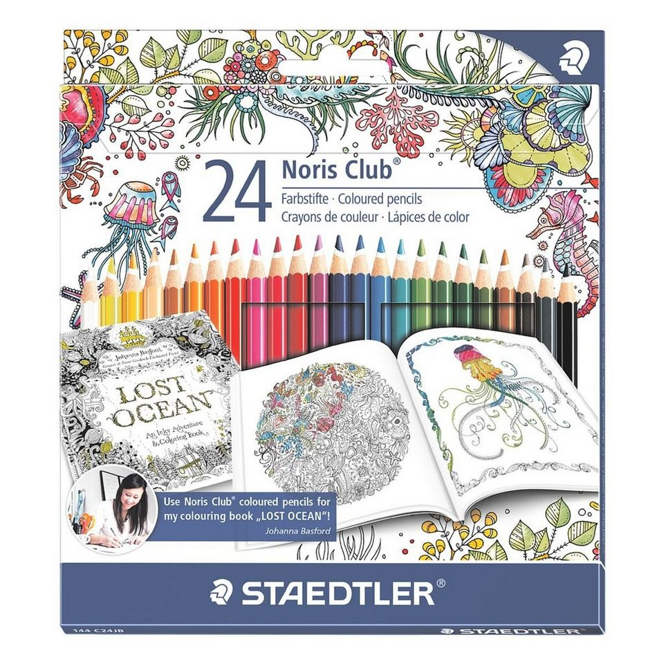 Staedtler 24er-Pack Buntstifte »Noris Club - Sonderedition Johanna...