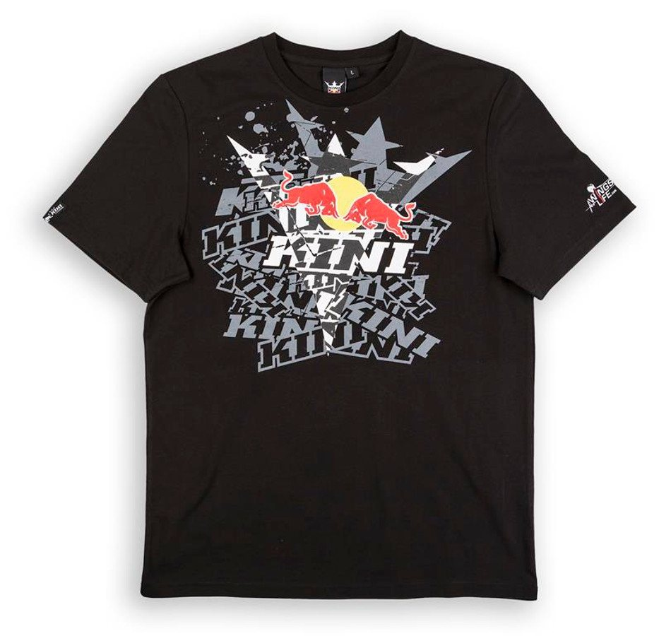 Kini Red Bull T-Shirt »Fade Tee Men« in schwarz