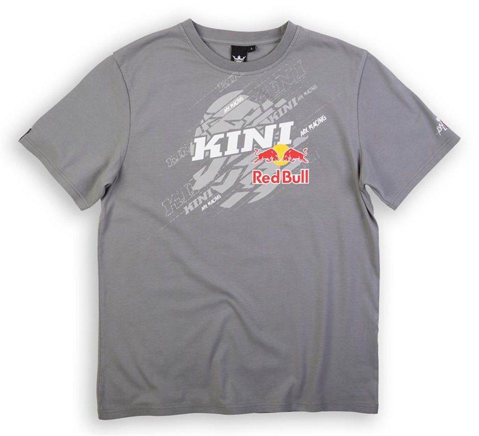 Kini Red Bull T-Shirt »Dissected Tee Men« in grau