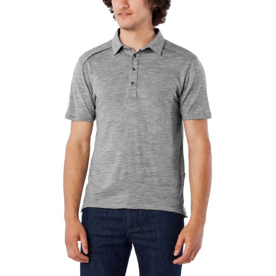 Giro T-Shirt »Merino Polo Men« in grau
