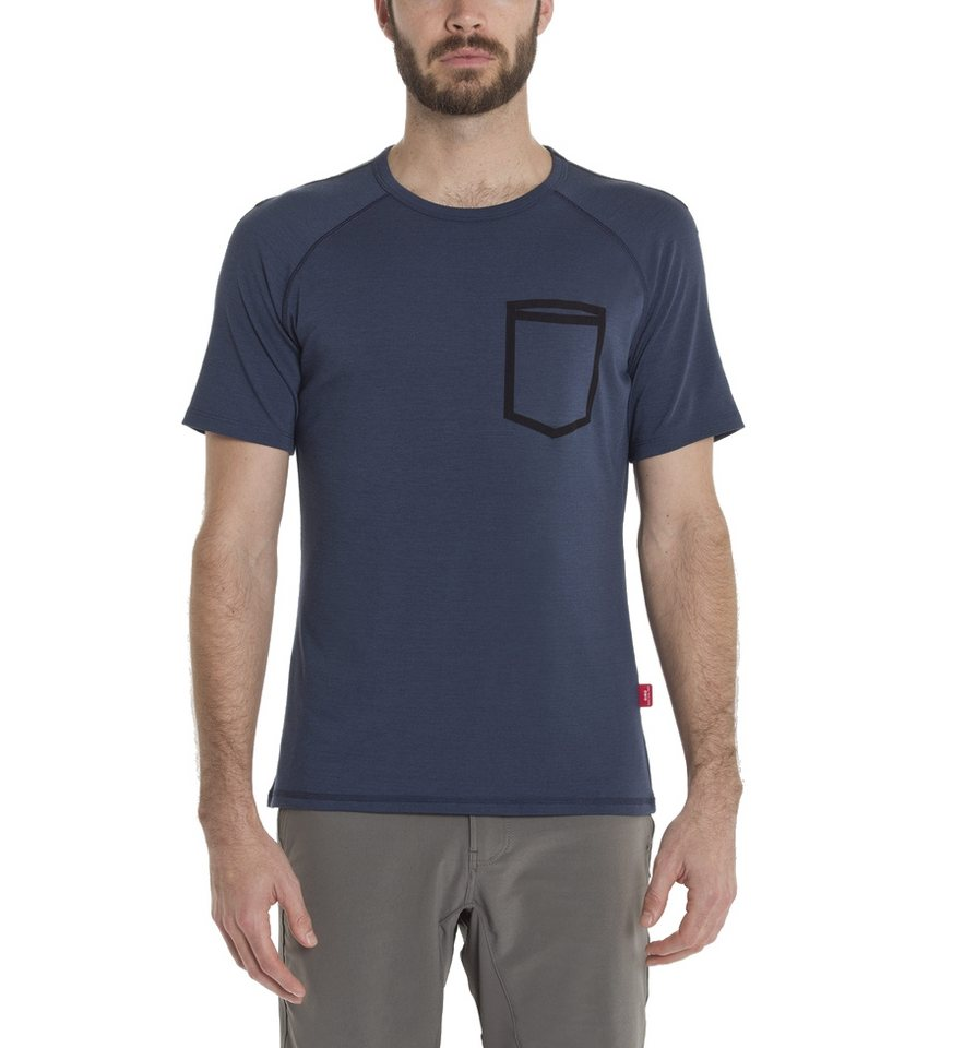 Giro T-Shirt »Mobility Crew T-Shirt Men« in blau