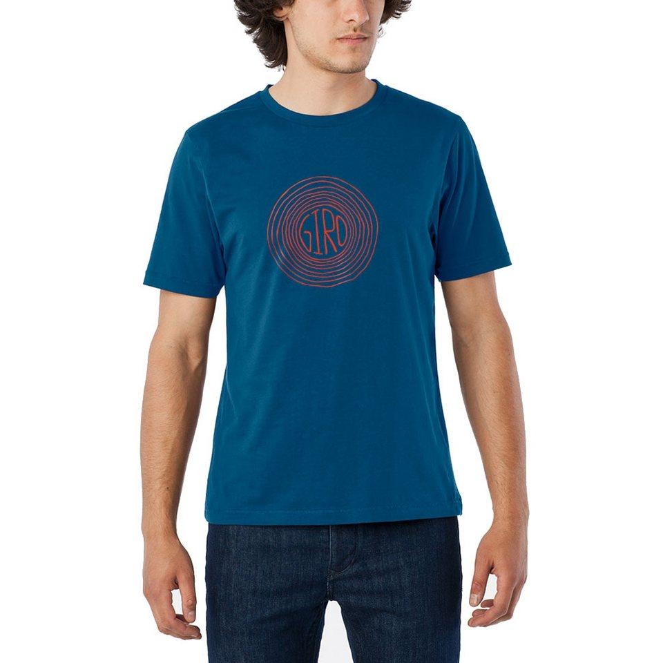Giro T-Shirt »Transfer Tee Men« in blau