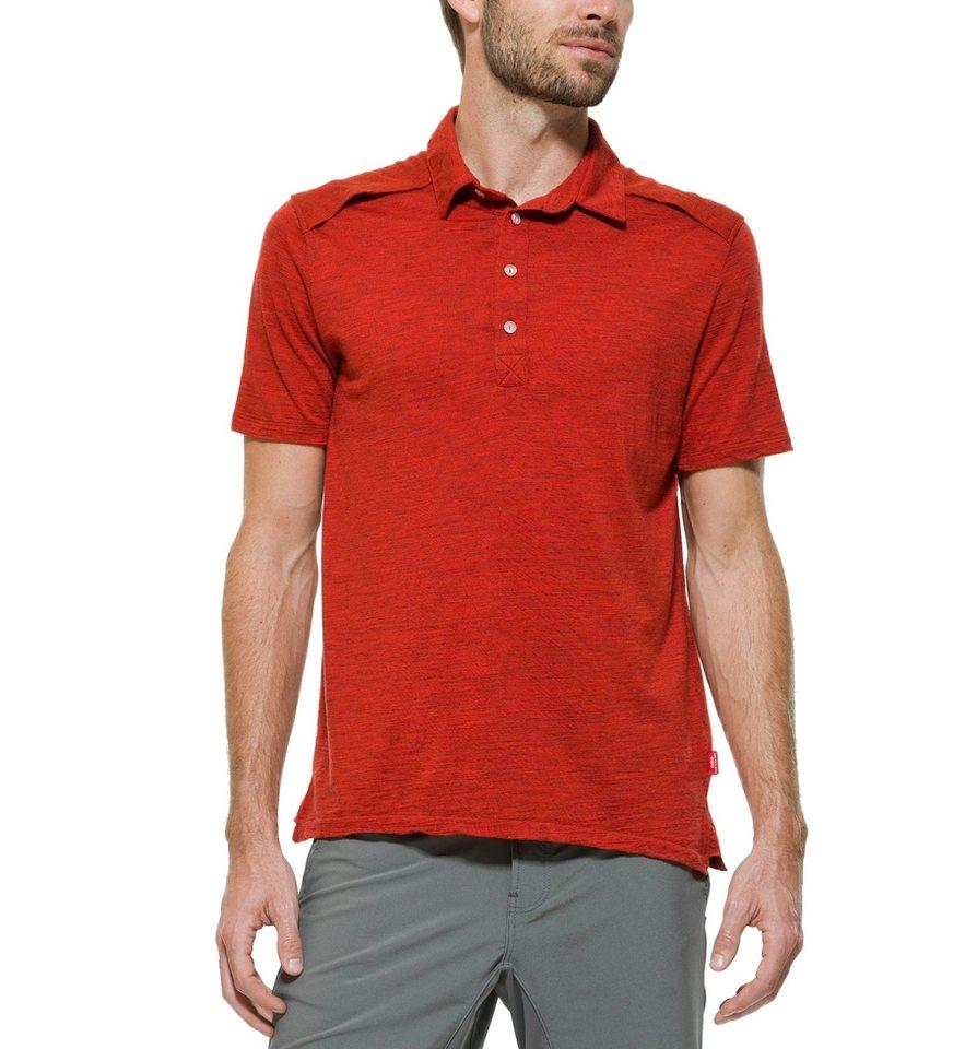 Giro T-Shirt »40 Merino Crew Polo Shirt Men« in rot