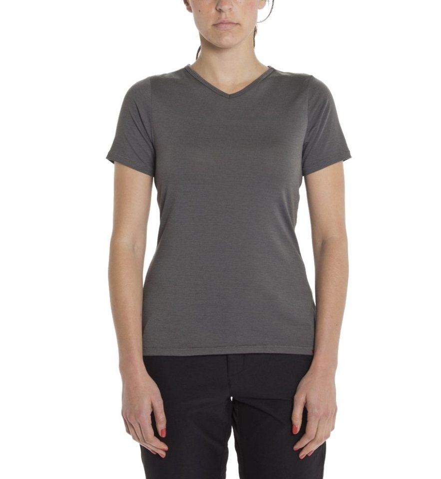Giro T-Shirt »Mobility T-Shirt Women V-Neck« in grau