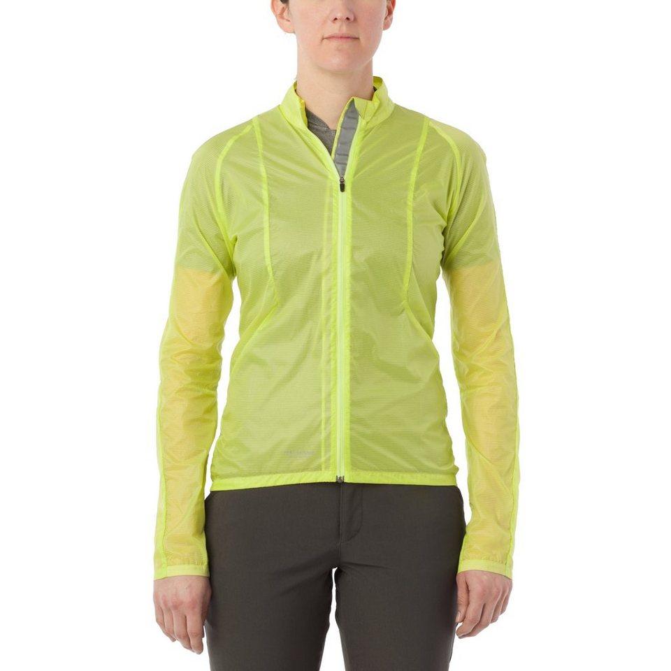 Giro Radjacke »Wind Jacket Women« in gelb