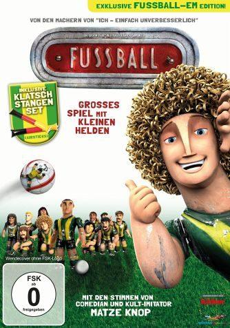 DVD »Fußball - Großes Spiel mit kleinen Helden...«