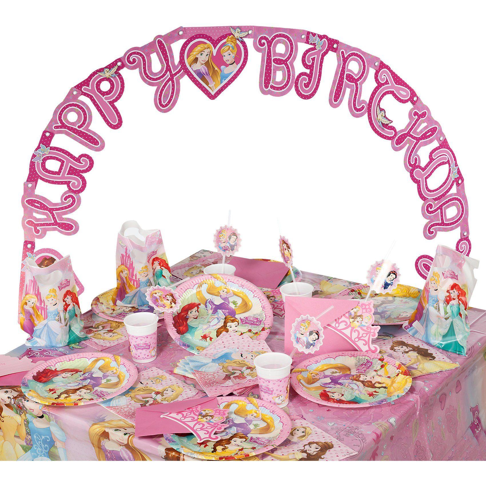 Procos Partyset Disney Princess Dreaming, 56-tlg.