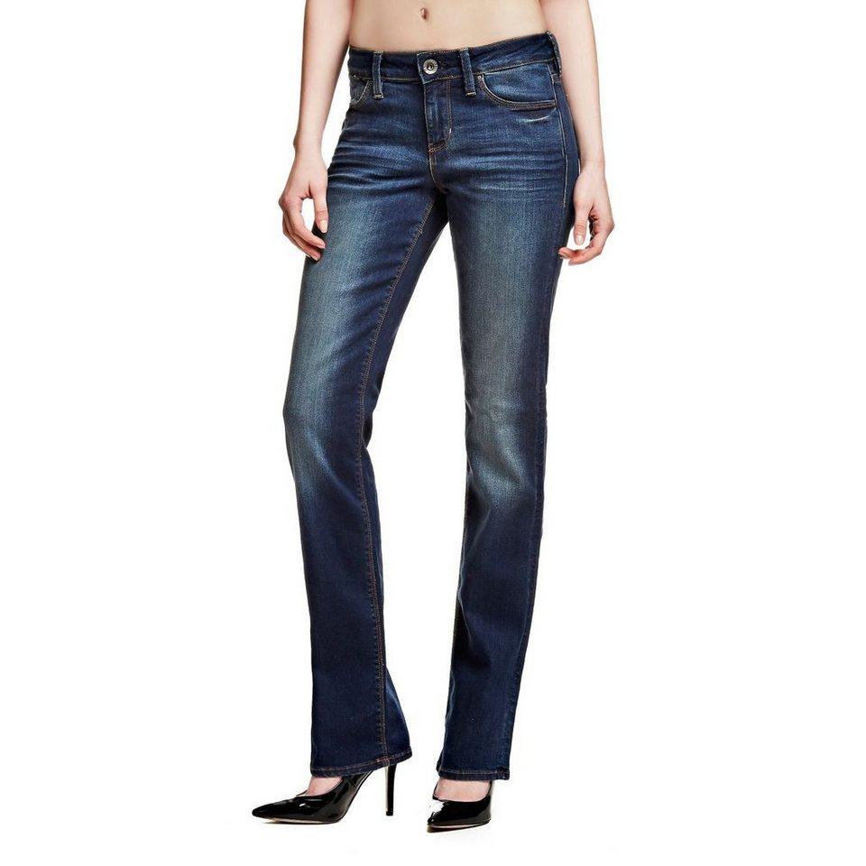 Guess Jeans »Cigarette Mid Dark Blue Wash« in Dunkelblau